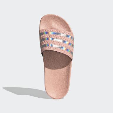 Dames Originals Roze Adilette Badslippers