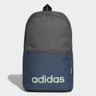 Sport Inspired Grey Linear Classic Daily Backpack