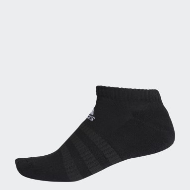 Training Black Cushioned Low-Cut Socks