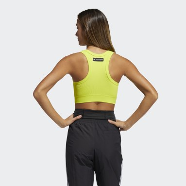 Women Training Yellow Formotion Studio Bra
