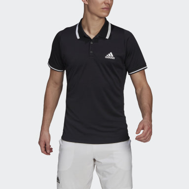 Polo Tennis Freelift Nero Uomo Tennis