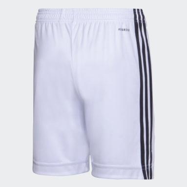 Shorts Tercer Uniforme River Plate Blanco Niño Fútbol