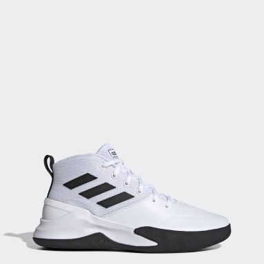 Men Basketball White Own the Game Shoes