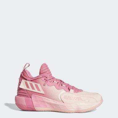Zapatilla Dame 7 EXTPLY Rosa Baloncesto