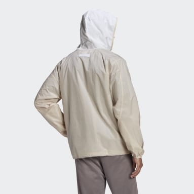 Men Originals Beige R.Y.V. Utility Windbreaker