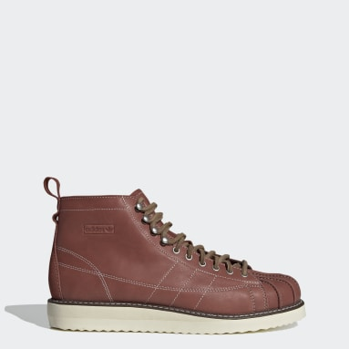 Men Originals Red Superstar Boots