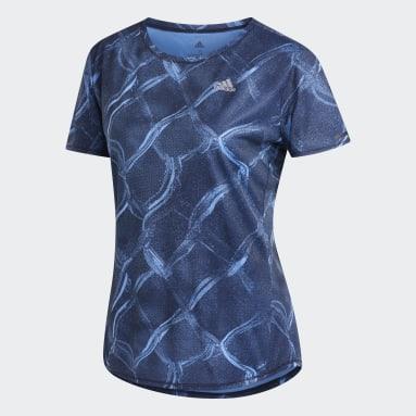 Women Running Blue Own the Run Graphic T-Shirt