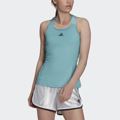 Camiseta de tirantes Tennis Verde Mujer Tenis