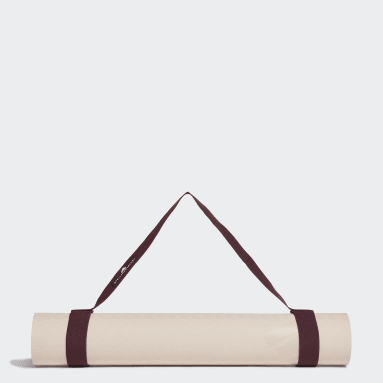бежевый Коврик для йоги adidas by Stella McCartney
