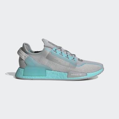 Men Originals Grey NMD_R1 V2 Shoes