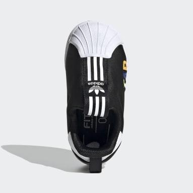 Infant Originals Black Superstar 360 X Shoes