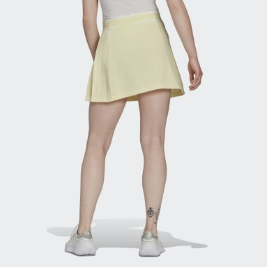Women's Originals Yellow Tennis Luxe Tennis Skirt