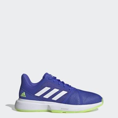 Men's Tennis Blue CourtJam Bounce Shoes