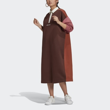 Women Originals Brown Polo Dress