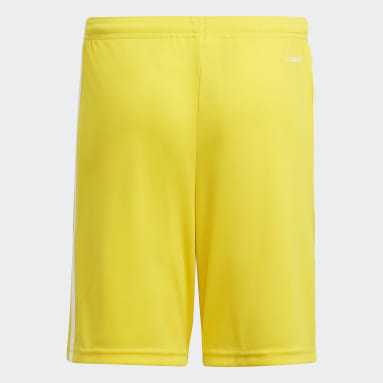 Boys Fotboll Gul Squadra 21 Shorts