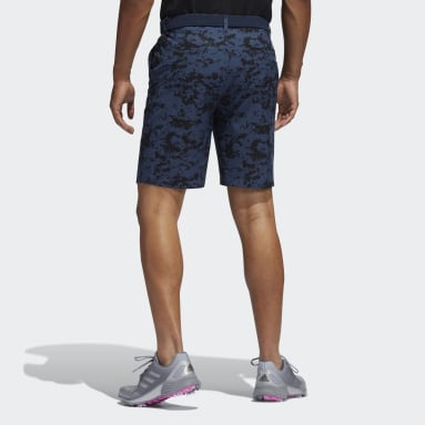 Männer Golf Ultimate365 Camo Shorts Blau