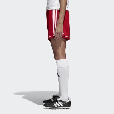 Short Squadra 17 Rouge Femmes Football