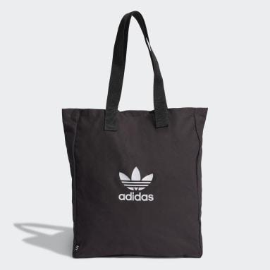 черный Сумка-шоппер Adicolor