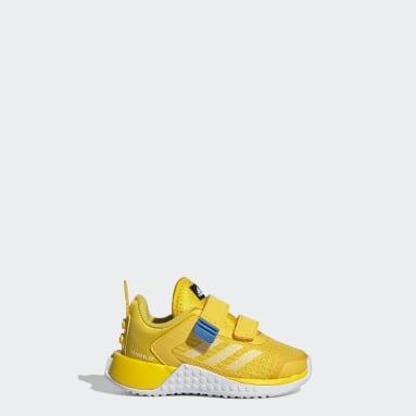 Chaussure adidas x Classic LEGO® Sport Jaune Enfants Running
