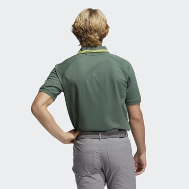 Men Golf Green Go-To Primegreen Pique Polo Shirt