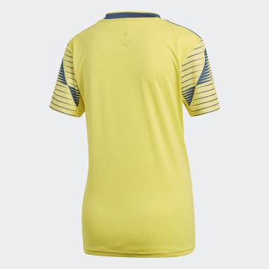 Camiseta de Local Selección Colombia Amarillo Mujer Fútbol