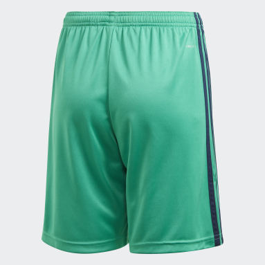 Short Real Madrid Third Vert Garçons Football