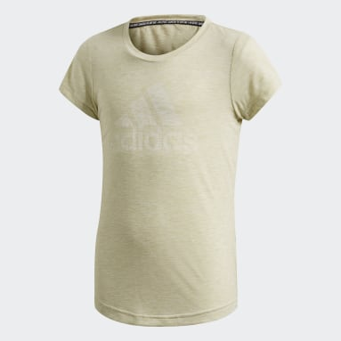 T-shirt Must Haves Giallo Ragazza Sportswear