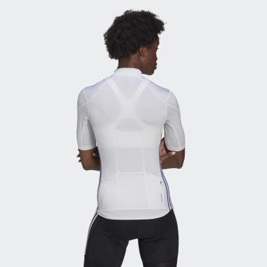 Women Cycling White The Short Sleeve Cycling Jersey