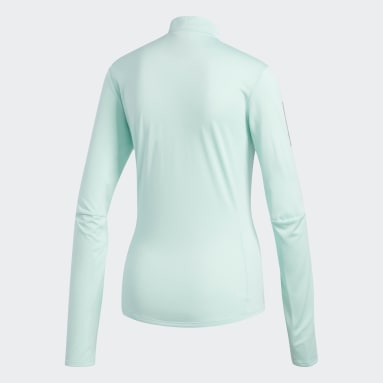 Polera Own the Run Turquesa Mujer Running