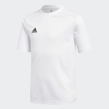 Youth Soccer White Condivo 18 Jersey