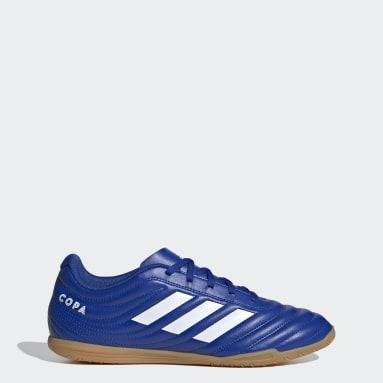 Chaussure Copa 20.4Indoor Bleu Hommes Futsal