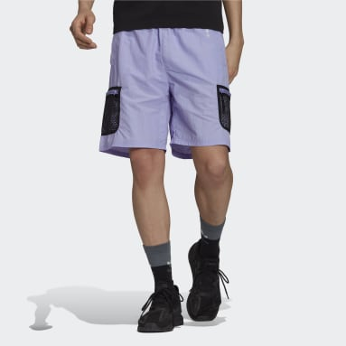 Men Originals Purple adidas Adventure Woven Cargo Shorts