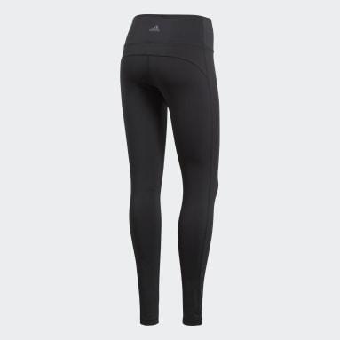 Women Yoga Black Believe This Solid Leggings
