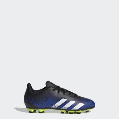 เด็กผู้ชาย ฟุตบอล สีน้ำเงิน รองเท้าฟุตบอล Predator Freak.4 Flexible Ground