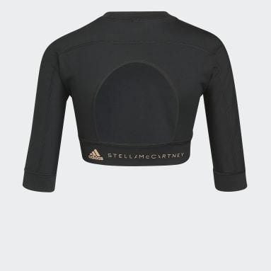 adidas by Stella McCartney TrueStrength Yoga Crop Top Czerń