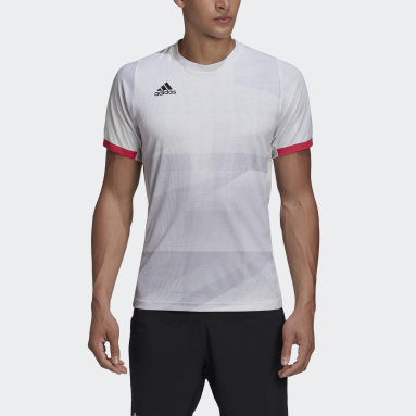 T-SHIRT TENNIS MATCH HEAT.RDY Blanc Hommes Tennis