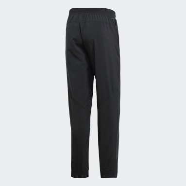 Men Cricket Black Climacool Workout Pants