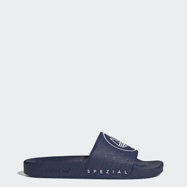 Women Originals Blue Adilette SPZL Slides