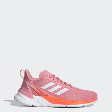 Women's Running Pink Response Super Shoes