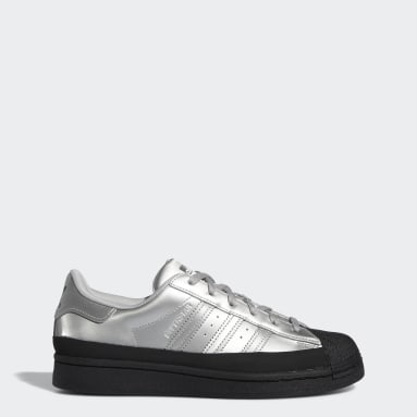 Women Originals Silver Superstar Shoes