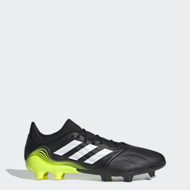 Football Black Copa Sense.3 Firm Ground Boots