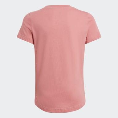 T-shirt Tropical Sports Graphic Rosa Ragazza Fitness & Training