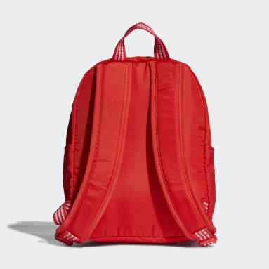 Kids Originals Red Adicolor Classic Backpack Small