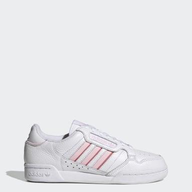 Frauen Originals Continental 80 Stripes Schuh Weiß