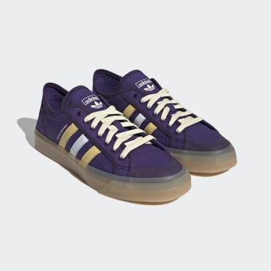 Men Originals Purple Wales Bonner Nizza Lo Shoes
