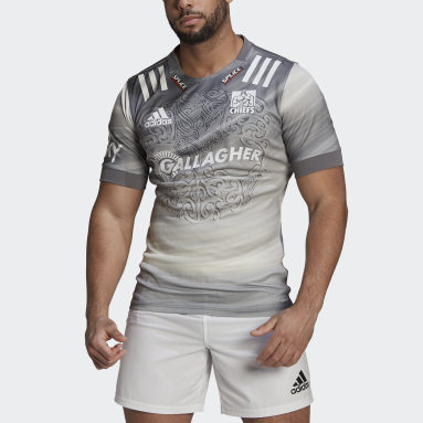Maillot Chiefs Rugby Primeblue Alternate Replica Blanc Hommes Rugby