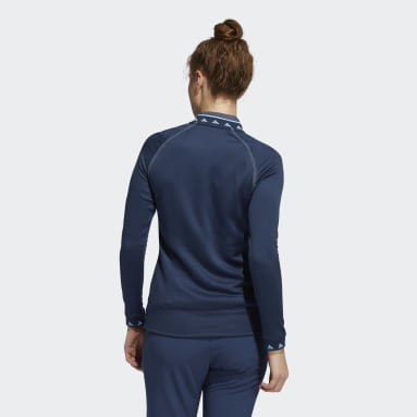 Dames Golf Blauw Equipment Sweatshirt