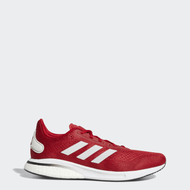 Running Red Huskers Supernova Shoes