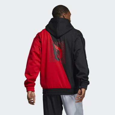 Men Basketball Red CNY Harden Hoodie