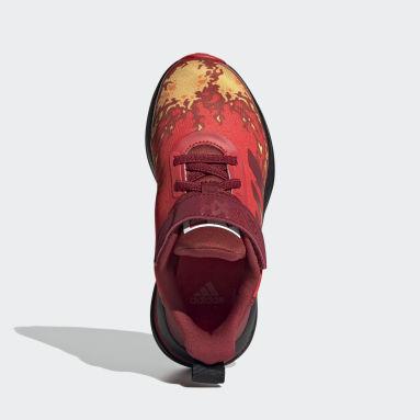 Chaussure LEGO® NINJAGO® adidas FortaRun Rouge Enfants Running